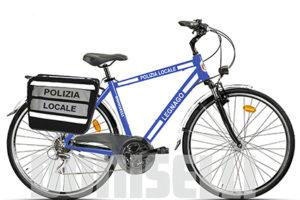 PL137-02FA Bicicletta Doniselli Mod. City Bike Forcella Ammortizzata per Polizia Locale
