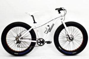 B032 Bicicletta Doniselli Fat Bike Bolt Acera 8v.