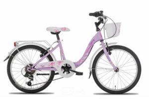 """BN1421-c Bicicletta da bambina Bloomy Montana 20"""" 6v"""