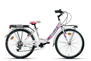 """BN1424-c Bicicletta da bambina Fata 24""""6 vel."""