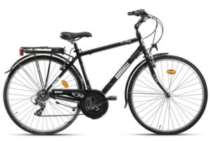 BN1926M Bicicletta Doniselli City Bike Alluminium York 21 vel. uomo