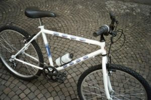 Fitness bike Danone